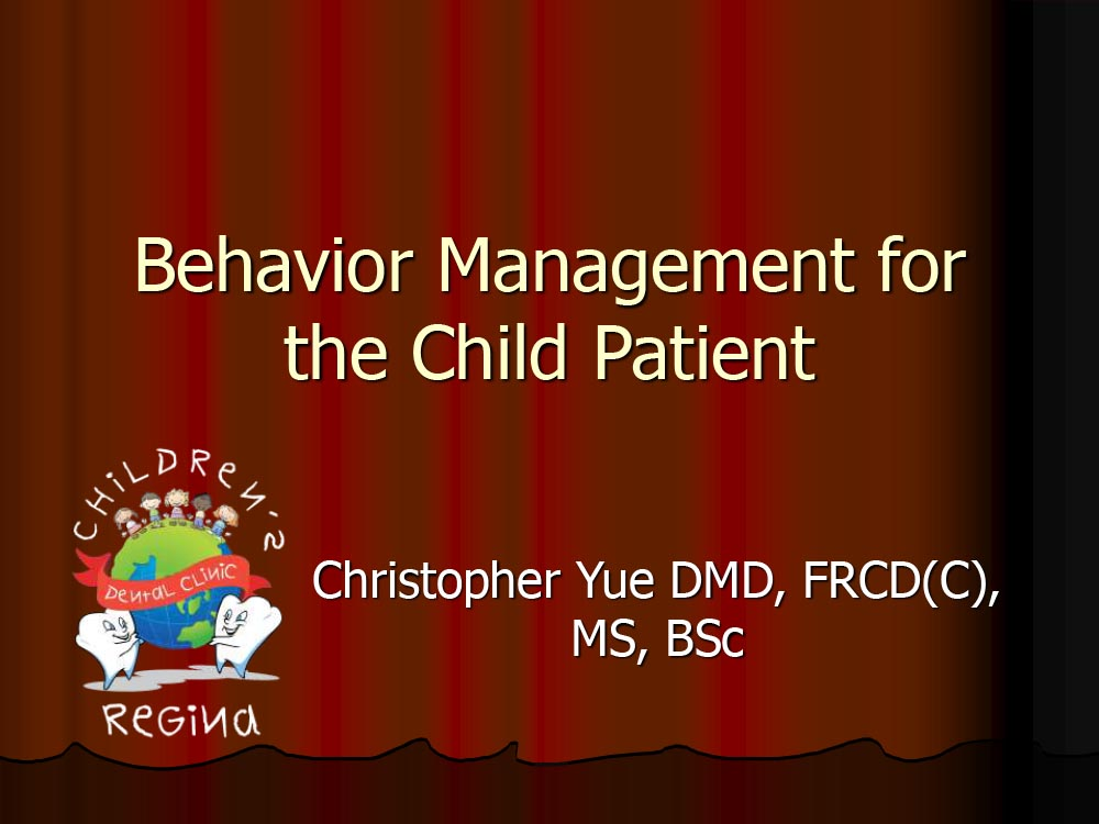 Trauma in the Child Patient